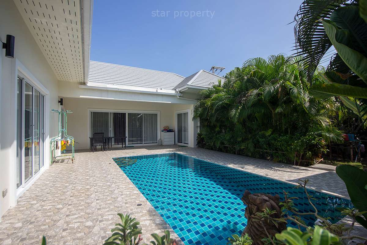 Stunning Pool Villa For Sale at Sea Breeze Hua Hin Soi 91 at Sea Breeze Hua Hin Soi 91
