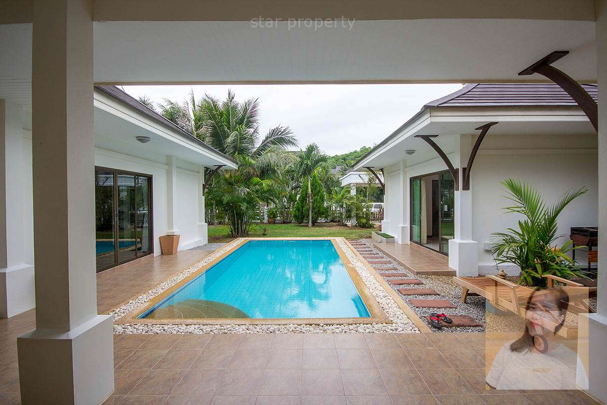 Luxury 4 Bedroom Pool Villa for Sale at The Heights 2 Hua Hin