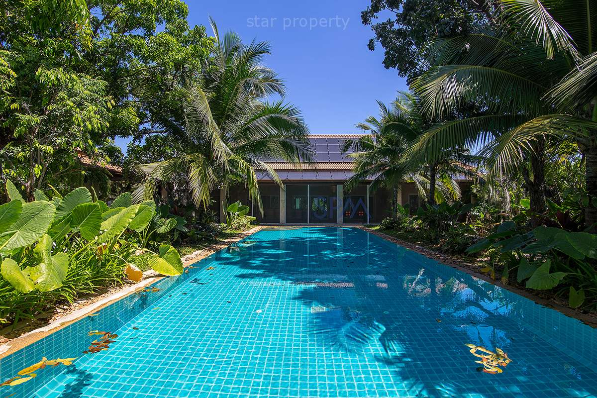 Exclusive Luxury Pool Villa for Sale at Popular Palm Hills Golf Course at Hua Hin District, Prachuap Khiri Khan, Thailand