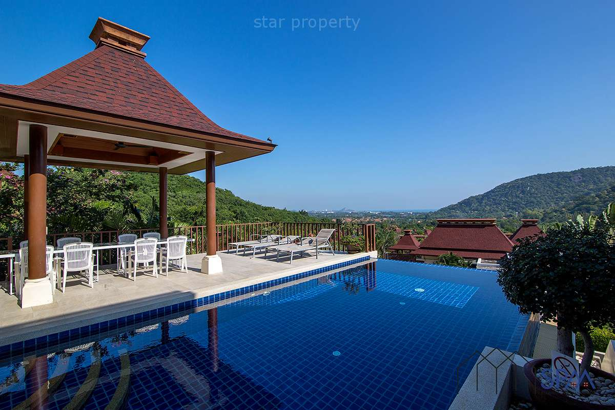 Stunning Sea View Pool Villa at Panorama Hua Hin