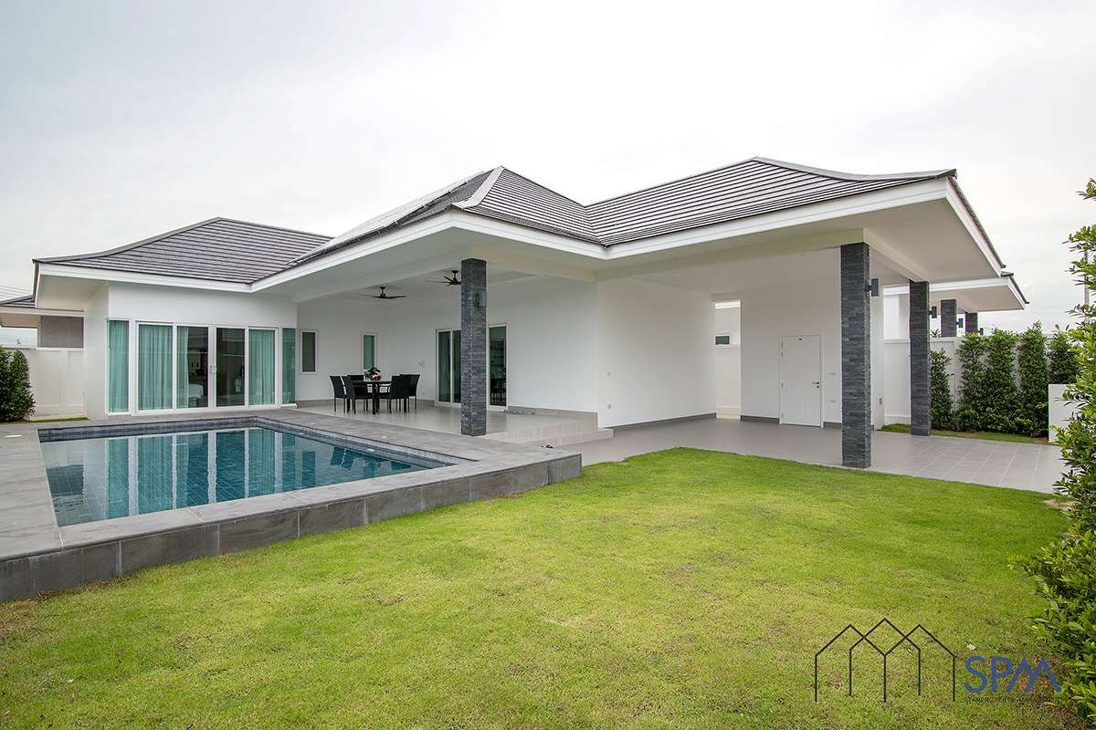 3 Bedroom Luxury Pool Villa in Aria Hua Hin at Hua Hin District, Prachuap Khiri Khan, Thailand