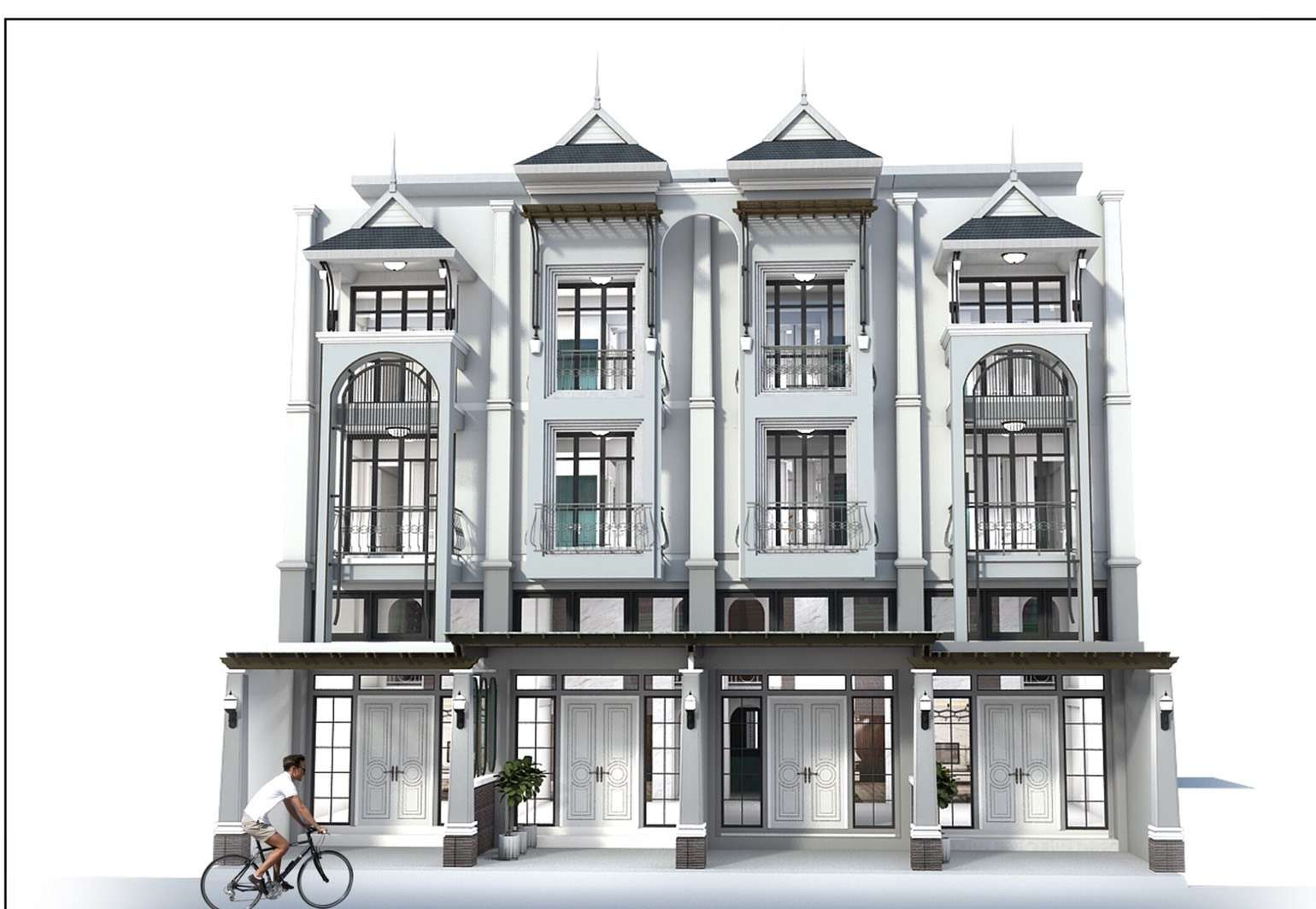 Exclusive Luxury Townhouse New Development in Cha Am