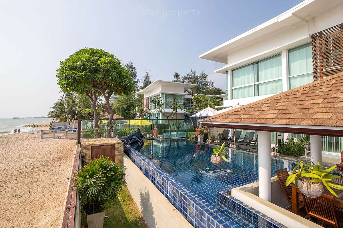 Exclusive Beach Front House at The Vimanlay, Cha Am, for Sale at Cha-Am, Phetchaburi, Thailand