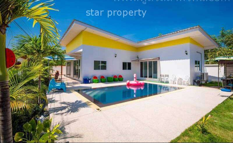 5 Bedroom Pool Villa for Sale at Hua Hin