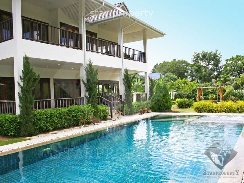 Luxury 2-Storey House on Large Plot of Land in Hua Hin Soi 88 at Hua Hin Soi 88