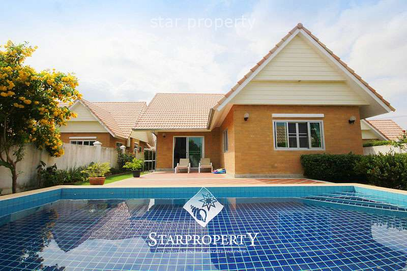Beautiful Pool Villa in Hua Hin for Rent at Dusita II