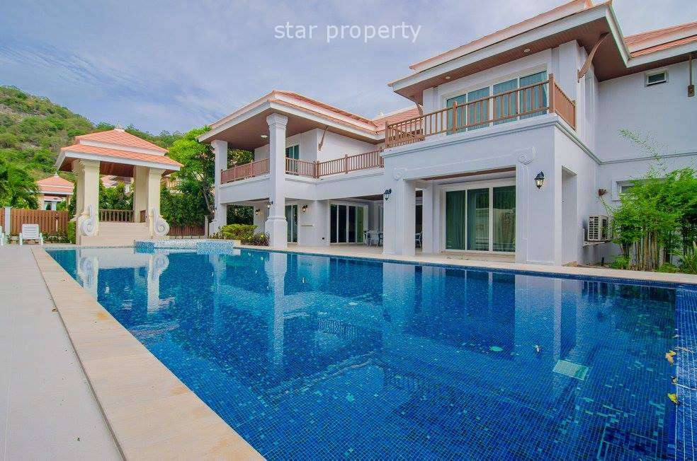 Luxurious 5 Bedroom Panorama Pool Villa at Royal Mountain in Hua Hin Soi 101 at Hua Hin District, Prachuap Khiri Khan, Thailand