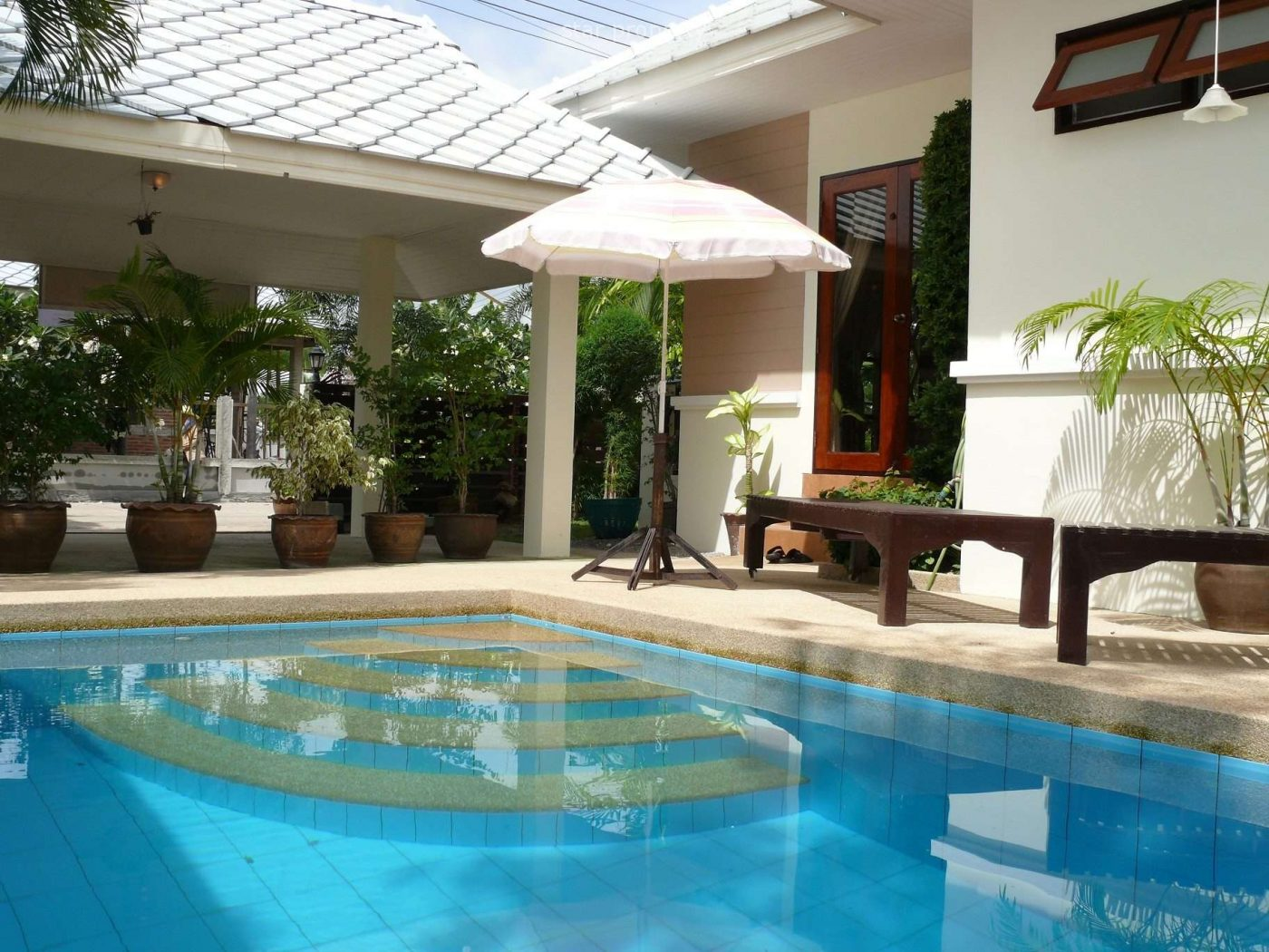 3 Bedroom Pool Villa at Plumeria Villa in Hua Hin Soi 6 at Hua Hin District, Prachuap Khiri Khan, Thailand