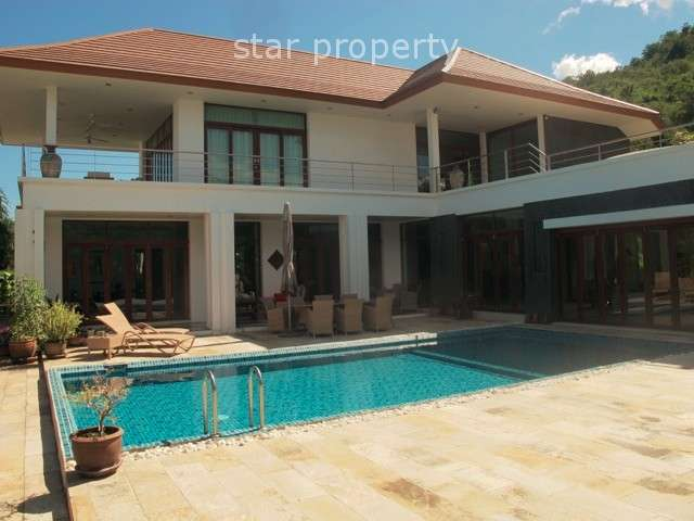 Hillside 3 Bedroom House with Private Pool in Hua Hin Soi 126
