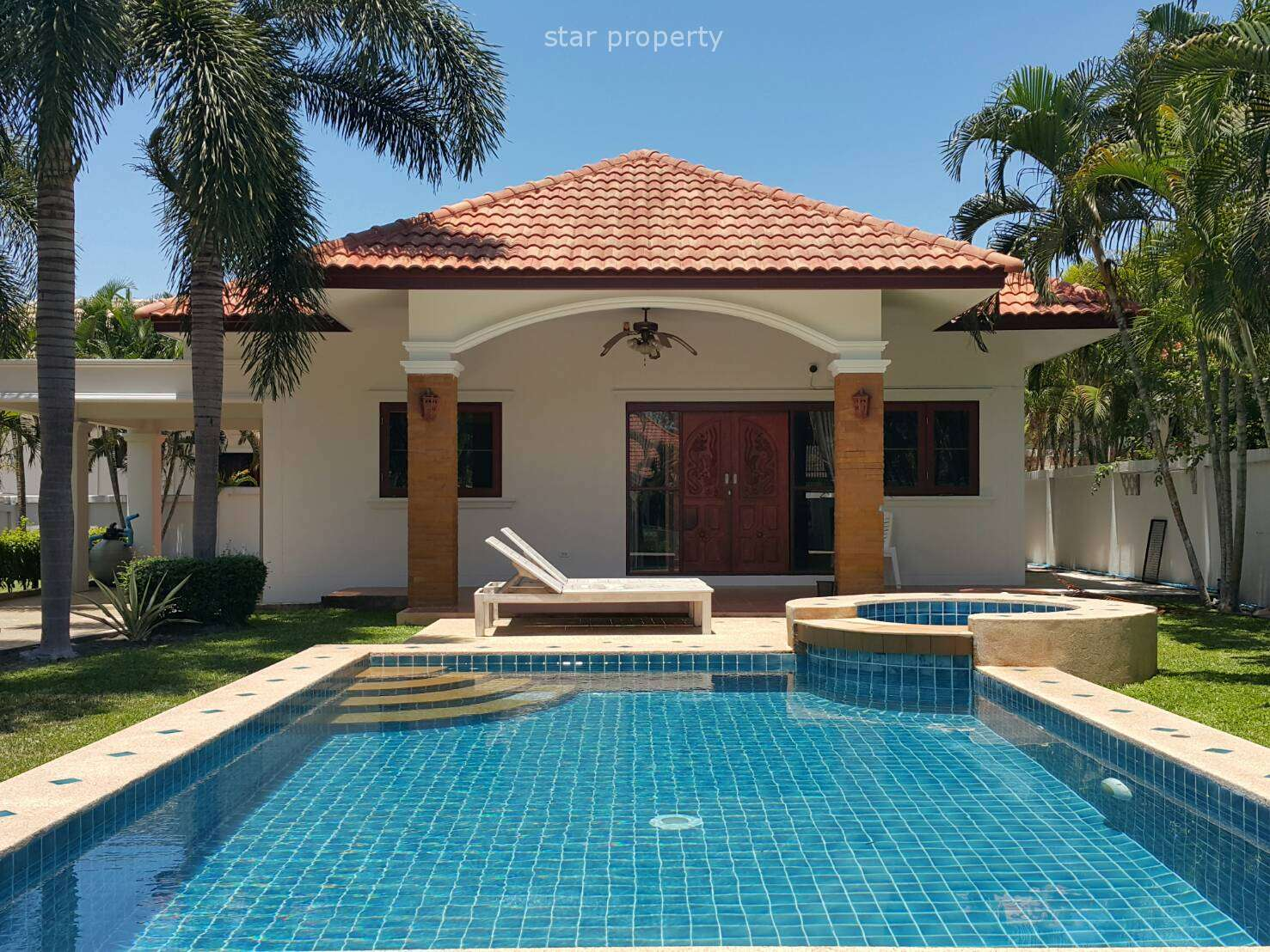 3 Bedroom Pool Villa for Sale at Sunshine Mountain Hua Hin Soi 70 at Hua Hin District