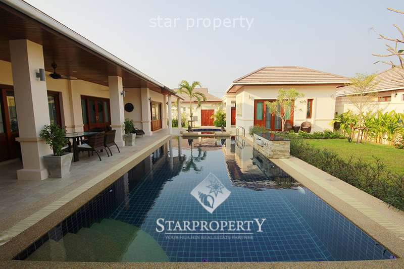 Beautiful Villa For Rent at Hillside Hamlet Hua Hin Soi 6