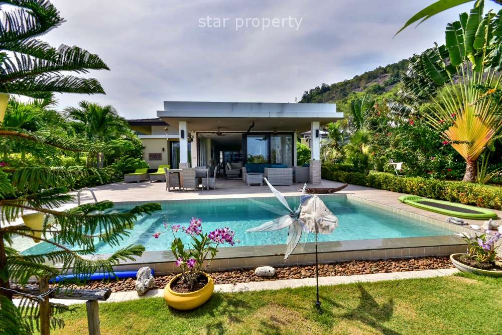 3 Bedroom Pool Villa in Hua Hin Soi 134 with Sea and Mountain View at Hua Hin Soi 134