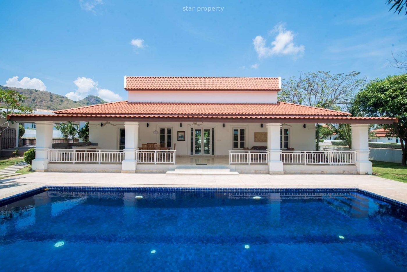 Beautiful 3 Bedroom Pool Villa at Banyan Golf Course Hua Hin at Hua Hin District, Prachuap Khiri Khan, Thailand