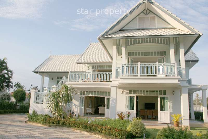 Beautiful House near Beach for Rent at Oriental Beach Resort Cha Am