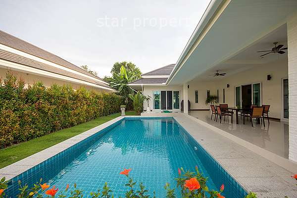 3 Bed Pool Villa at Palm Pool Hua Hin Cha Am at Palm Pool Villas