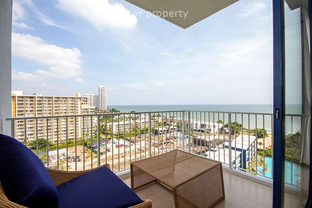 2 Bedrooms Unit with Seaview at Thew Talay Cha Am for Rent at Thew Talay