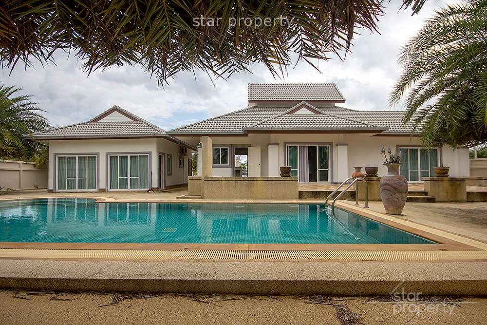 4 Bedroom Pool Villa for Sale at Emerald Hua Hin Soi 112 at Hua Hin District, Prachuap Khiri Khan, Thailand