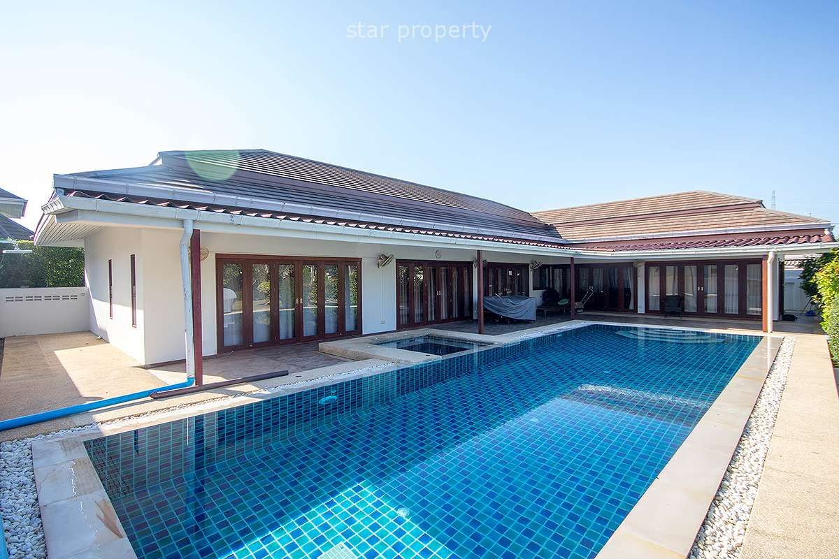 Beautiful Pool Villa For Rent Hua Hin Soi 88