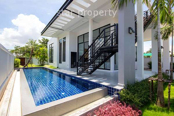 Contemporary 3 Bedroom Pool Villa in Hua Hin Soi 114 at Hua Hin District, Prachuap Khiri Khan, Thailand
