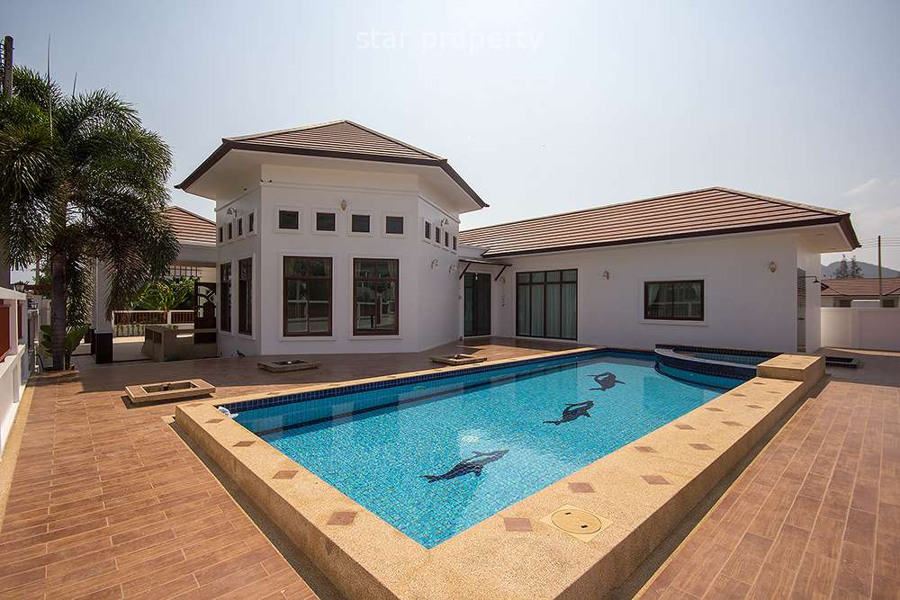 4 Bedroom Pool Villa at Hua Hin Sea Hill 2 in Soi 102