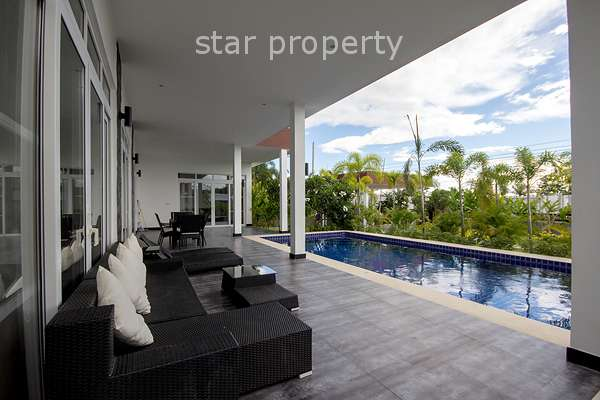 Modern Design Luxury Pool Villa For Rent at Greenscape Hua Hin