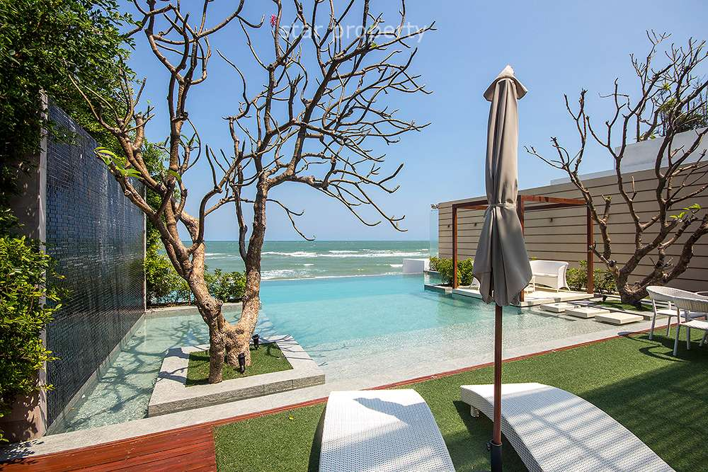 Exclusive Beach Front Property for Sale Cha Am Hua Hin