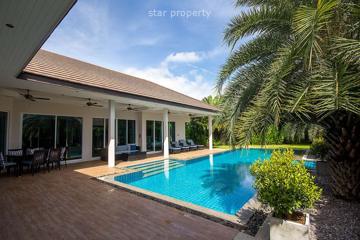 Wonderful Fully Furnished Pool Villa for Rent Hua Hin Soi 114
