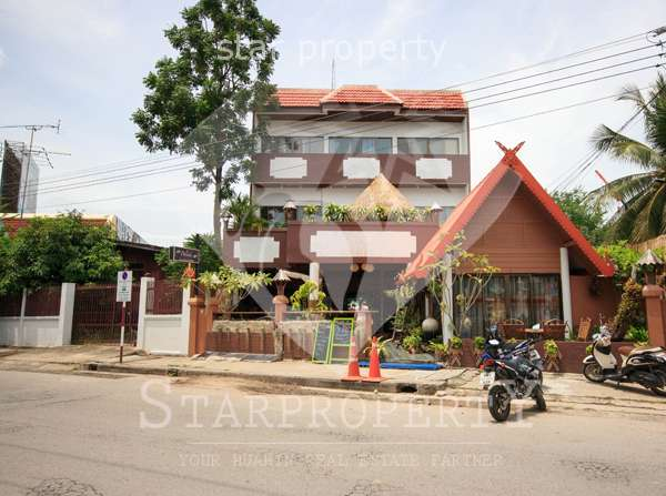 3 Storey Guesthouse for Sale in Hua Hin