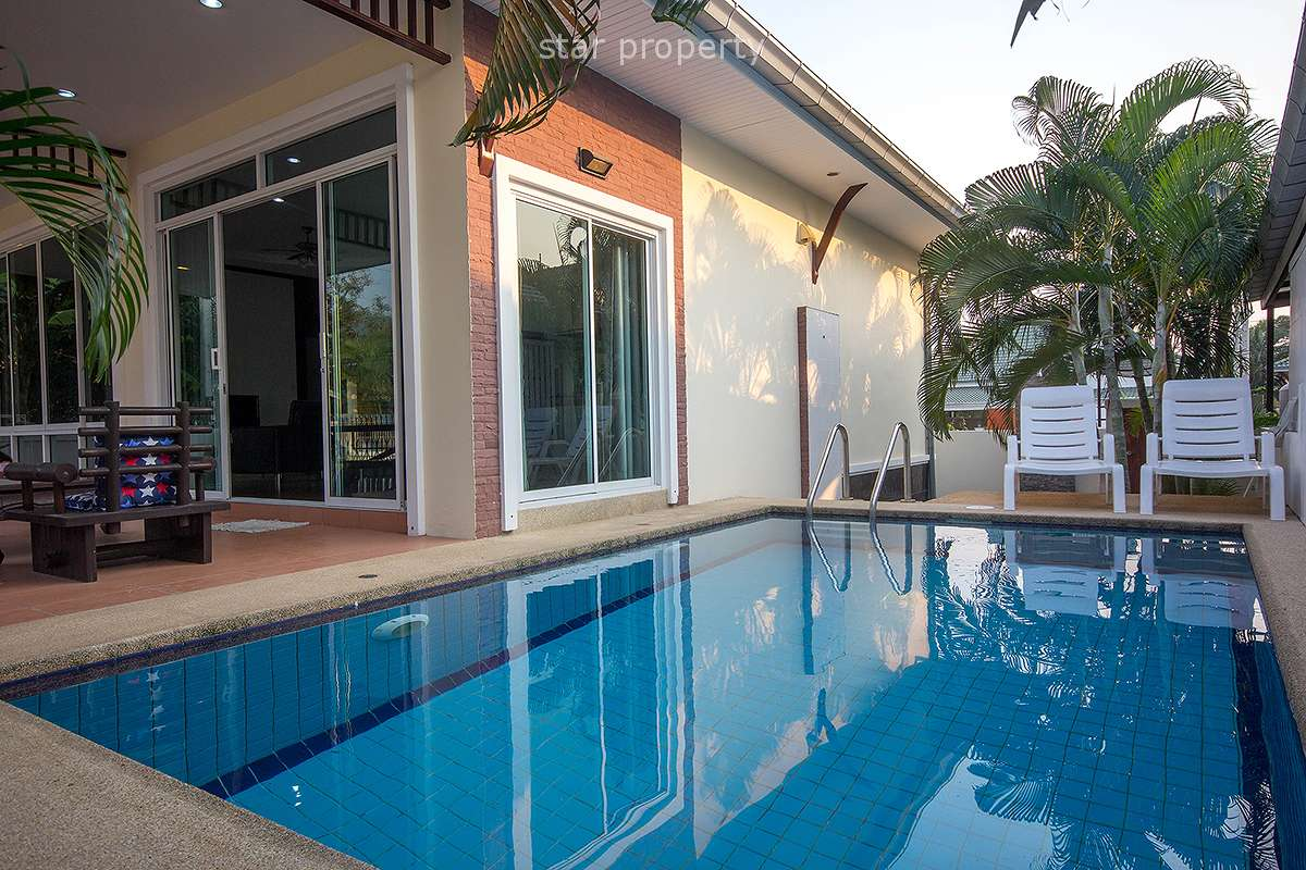 2 Bedrooms Pool villa at Hua Hin View