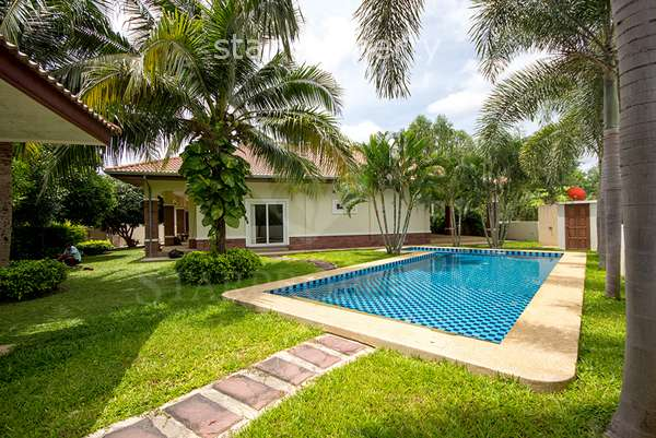 3 Bedroom Pool Villa at Orchid Palm Homes in Hua Hin at Hua Hin