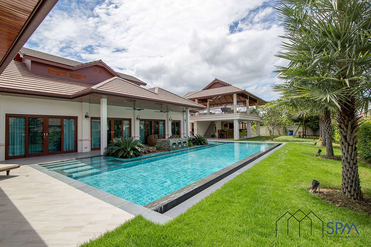 Thai Bali Style Villa with Pool for Rent Hua Hin88 at Hillside Hamlet 5