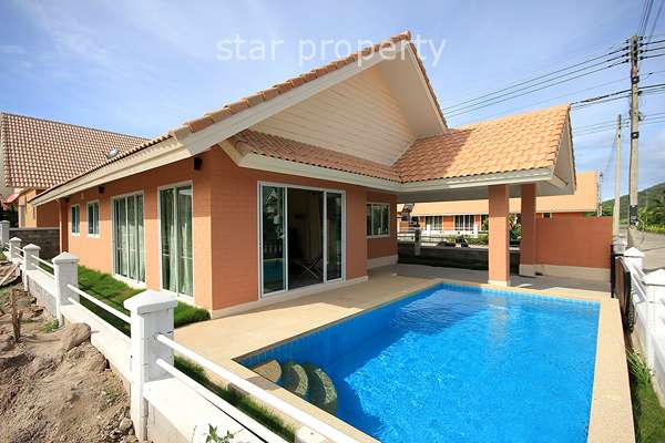 2 Bedroom Bungalow with Pool at Dusita Hua Hin Soi 112
