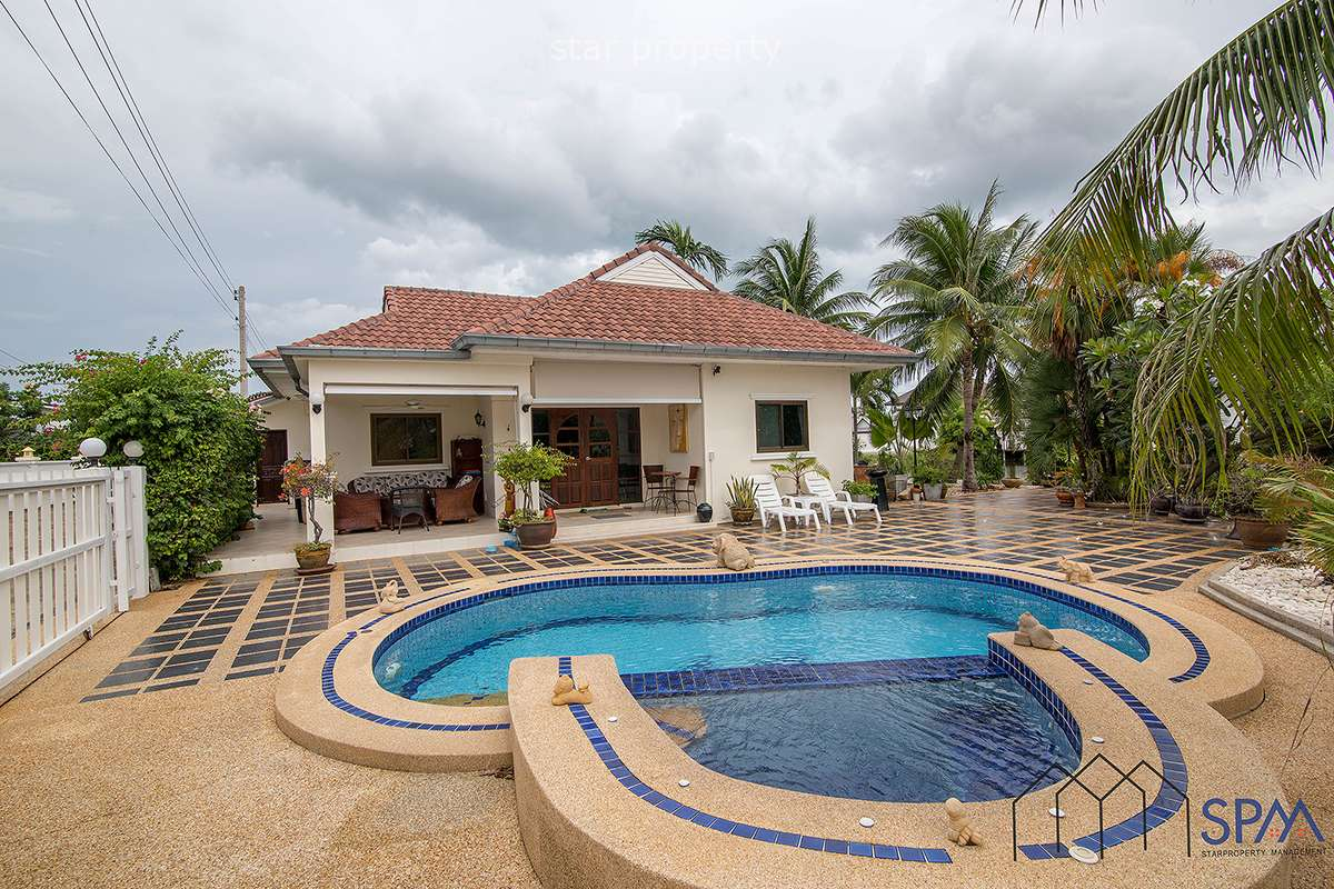 Pool Villa for Rent at Tropical Garden Cha Am