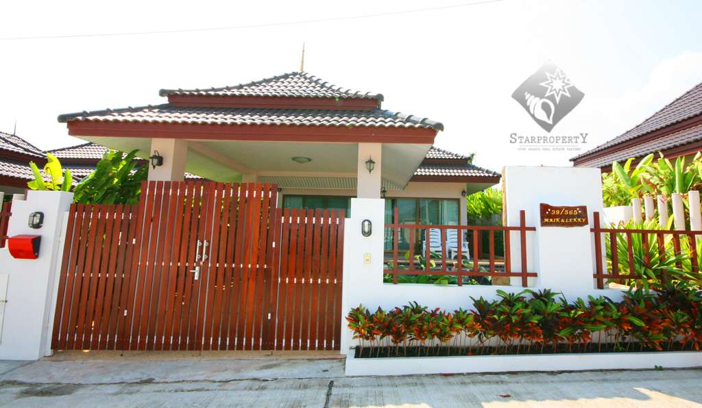 Bungalow in Hua Hin for Rent at Baan Araya