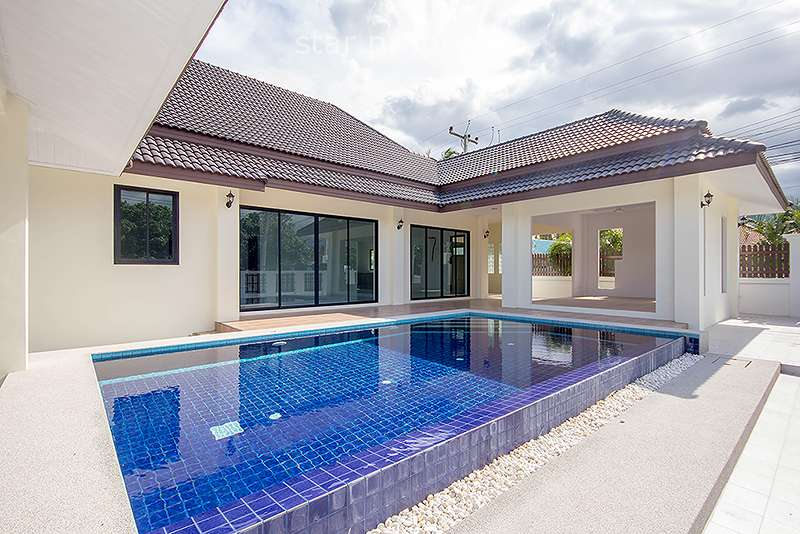 3 Bedroom Pool Villa for Sale in Hua Hin Soi 70 at Hua Hin District