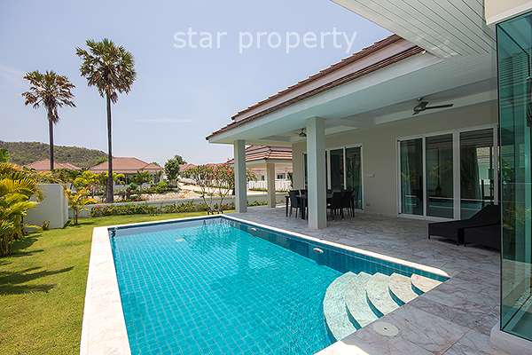 3 Bedroom Pool Villa at Red Mountain Hua Hin Soi 88