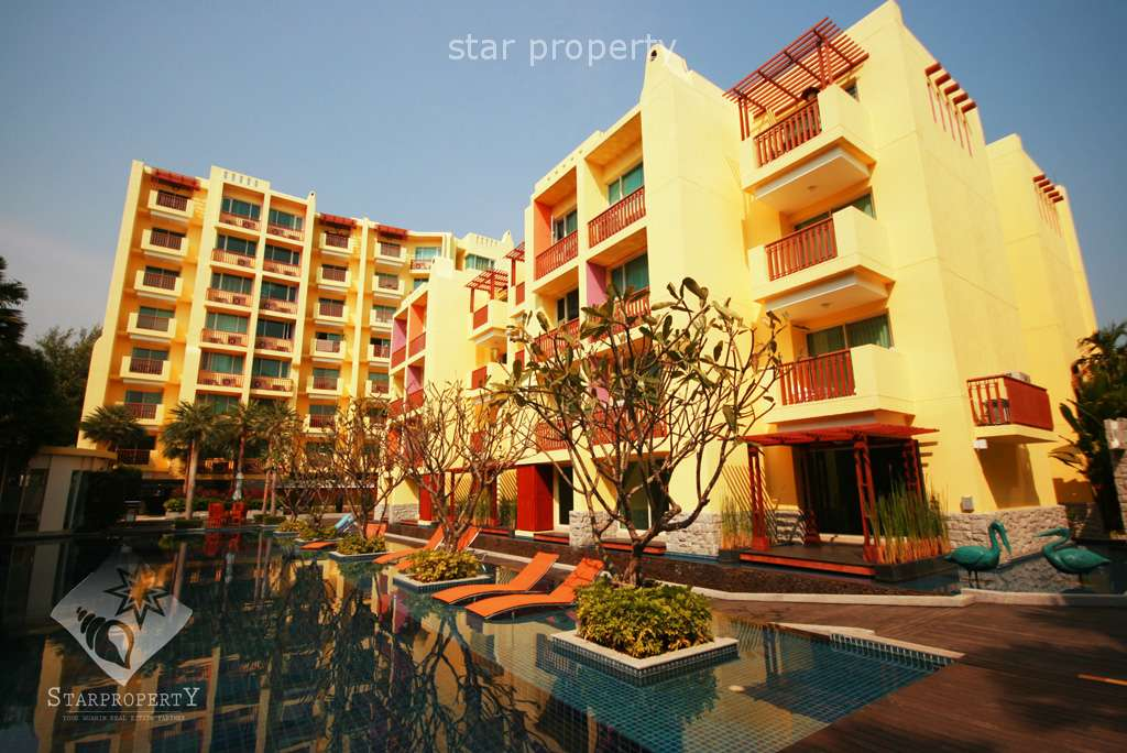 1 Bedroom Condominium with Pool View at Mykonos Hua Hin