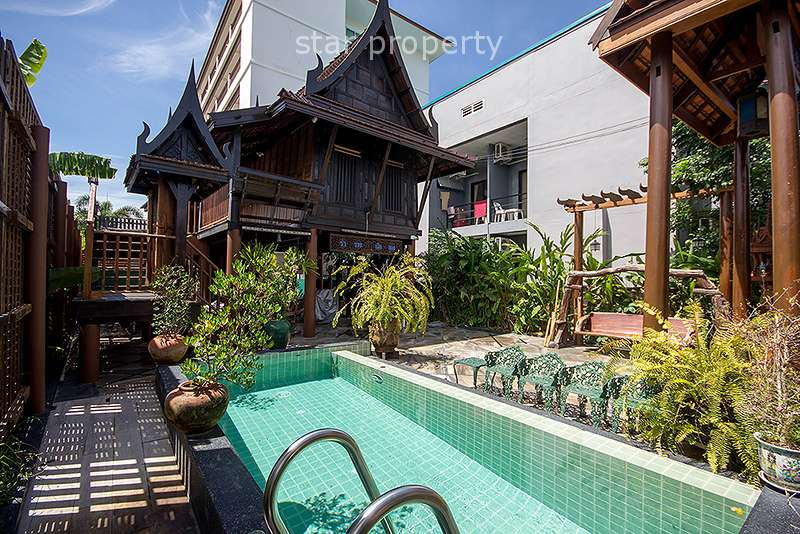 2 Bedroom Thai Styled House with Pool in Hua Hin Soi 102 at Hua Hin District, Prachuap Khiri Khan, Thailand