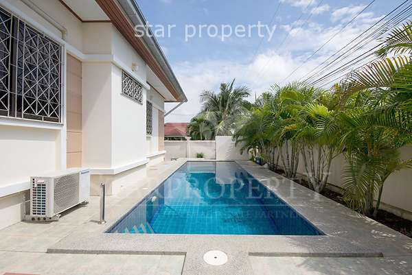 3 Bedroom Bungalow with Pool in Hua Hin Soi 70