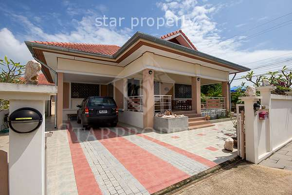 3 Bedroom Bungalow with Pool in Hua Hin Soi 70 at Hua Hin Soi 70