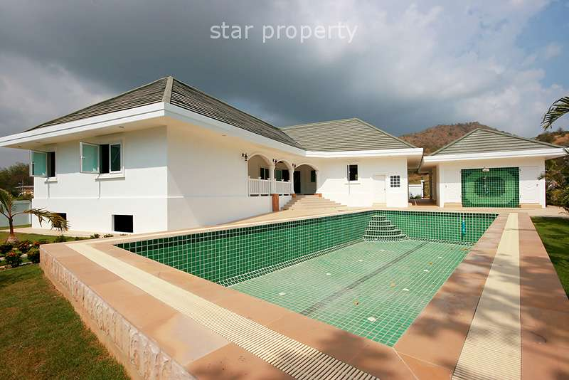 Stunning 4 Bedroom House with Pool in Pak Nam Pran at Pran Buri District, Prachuap Khiri Khan, Thailand