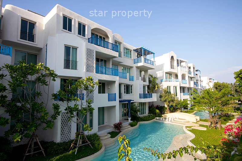 3 Bedrooms Sea View Unit at Celona Khao Tao for Rent at Celona Condominium