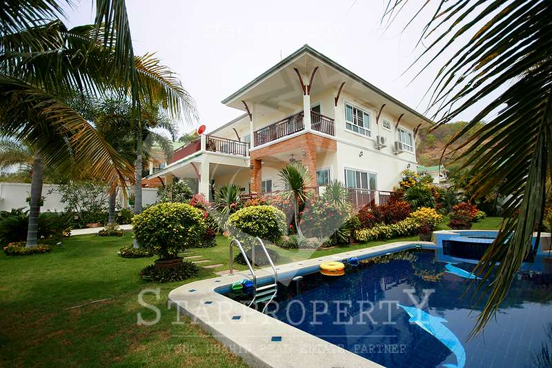 4 Bedroom House with Private Pool for Sale at Hua Hin Pavillion