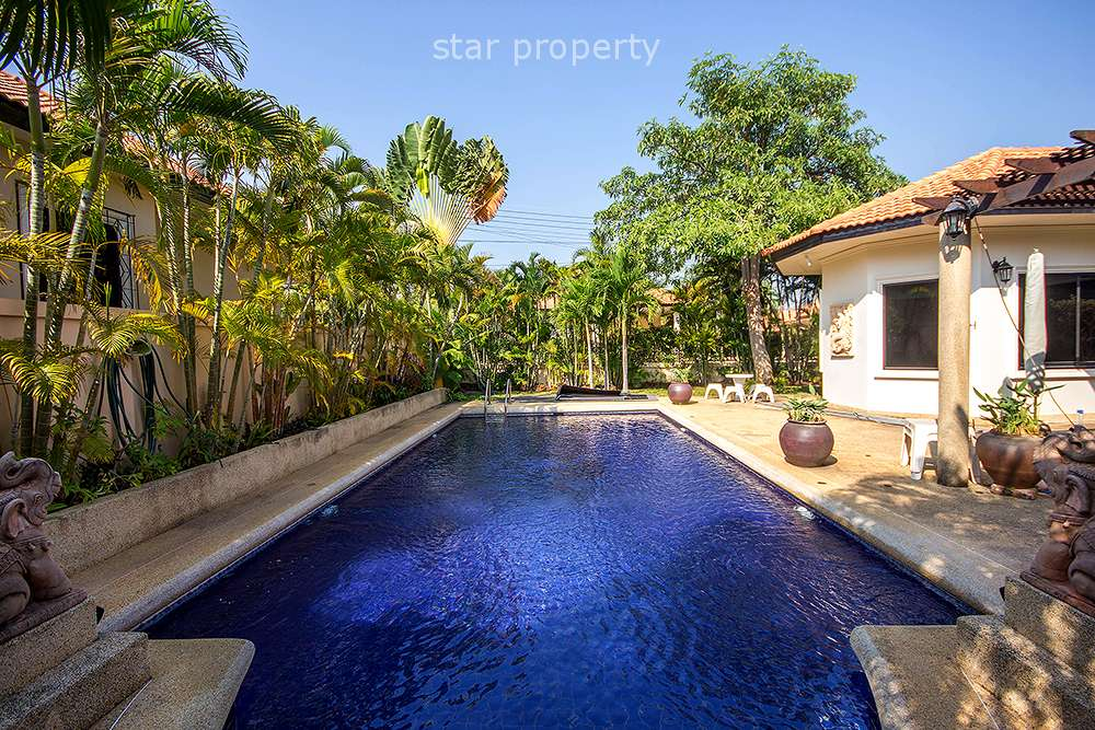 Lovely 3 Bedroom House for Rent at Orchid Villas Soi Hua Hin 114