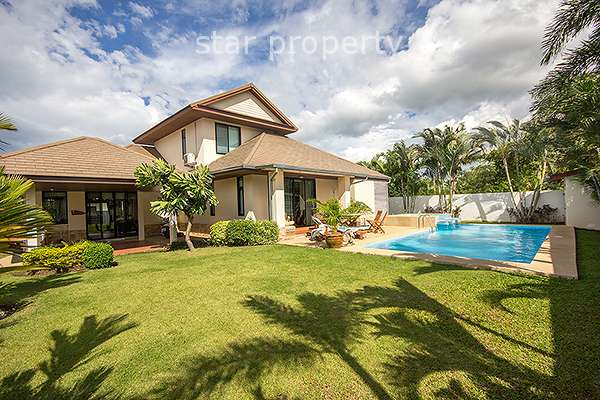 4 Bedroom Pool Villa at Hua Hin Hill Village in Soi 102 at Hua Hin District, Prachuap Khiri Khan, Thailand