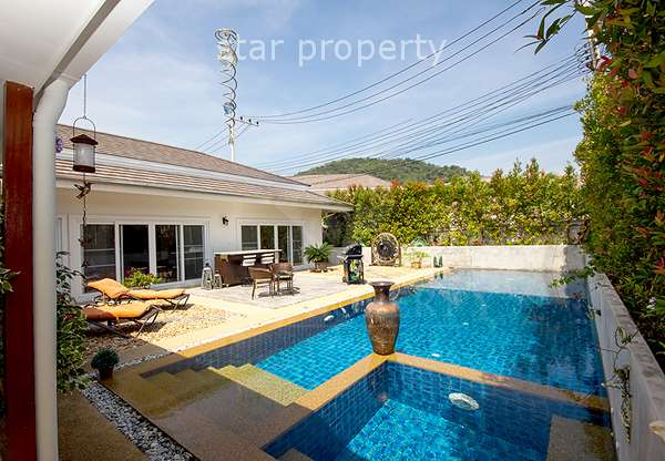 Beautiful Pool Villa at Avenue Gold II in Hua Hin Soi 88