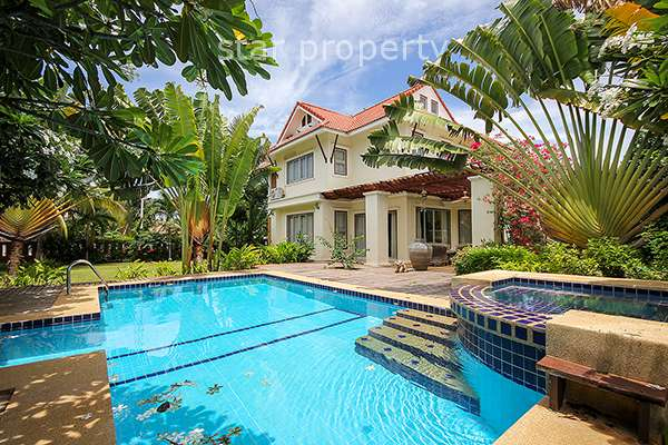 5 Bedroom House with Pool at Tropical Seaview, Pak Nam Pran