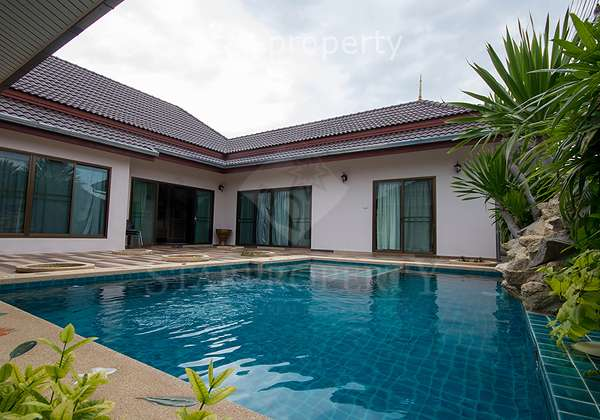 Bungalow for Rent with Private Pool at  Soi 102 Tambon Nong Kae, Amphoe Hua Hin,