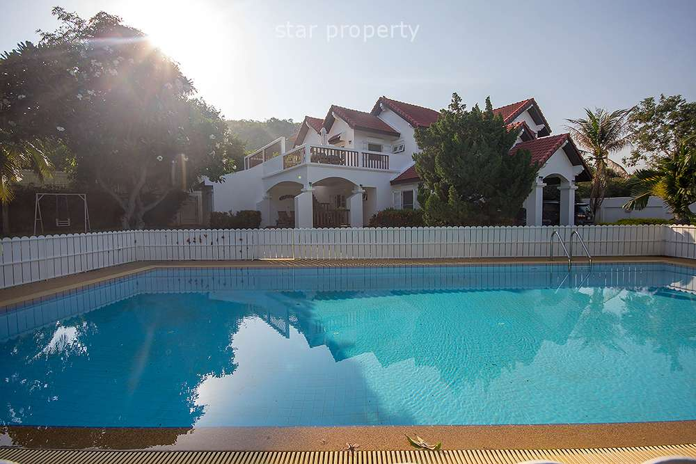 Beautiful 2 Storey House with Pool for Sale at Hua Hin District
