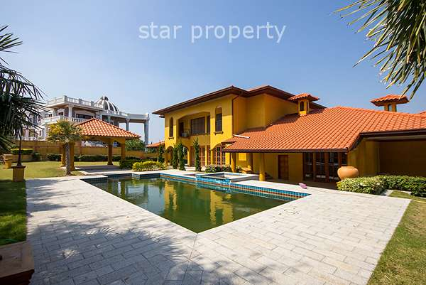 Tuscan Styled House with Private Pool in Hua Hin Soi 116 at Hua Hin District, Prachuap Khiri Khan, Thailand